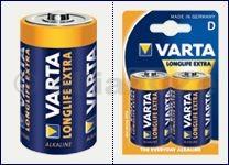 "baterie VARTA longlife LR20 ""D"" 1"