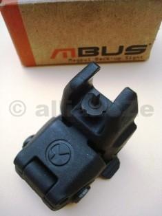 mířidlo přední - MBUS® - Magpul® Back-Up Sight – Front GEN 1 MBUS® - Magpul® Back-Up Sight – Front GEN 1ITEM: MAG245-BLKPřední sklopné stavitelné mířidlo pro pušky