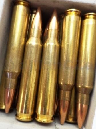 223 Rem. MESKO VM 55 gr FMJ - 20ks Bumar Amunicja kompletní náboje FMJ 223 Rem. 3