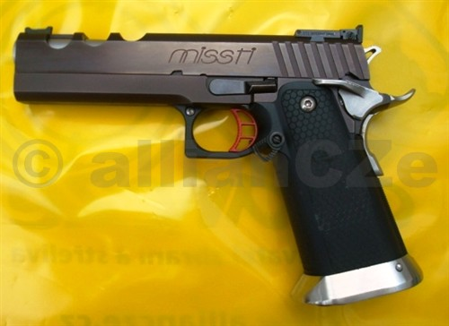 Pistole MISSTI .40S&W Custom 2011 by allianCZe missti .40 S&W CustomITEM: MISSTI_40SW_SN001Nová samonabíjecí pistole z produkce allianCZe
