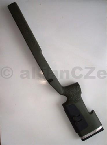 KIT na Remington 700 serie - McMillan A-4 - zelený Pravostranné provedení oblíbeného kitu proRemington 700 a Winchester 70 modelyMcMillan A-4 TACTICAL STOCKgreen(olive)Kit je ze sklolaminátovéhomateriálu