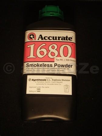 STŘELNÝ PRACH ACCURATE 1680 bezdýmý dvousložkový prach puškový
