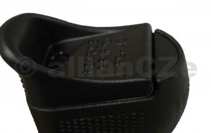 """zátka rukojeti GLOCK pro typ 42 a 43 - černá Grip Frame for GLOCK 42 & 43GLOCK : PG-FI42plastová """"ucpávka"""" rukojeti pro GLOCKy 42 a 43. Stačí jen nacvaknout a otvor v rukojeti je vyplněn."""