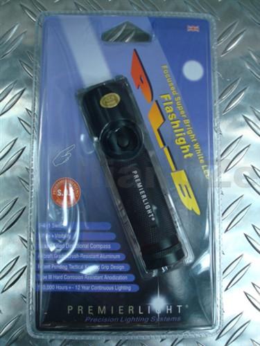 svítilna PREMIERLIGHT PL-B COMPASS PL-B v černé barvě s kompasem