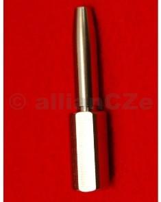 Trn pro frézku - 30 cal. Neck Turning Mandrel Trn pro frézku - 30 cal.PMA TOOL - Neck Turning Mandrel Model: PTM-1030Kovový-nerezový trn pro ruční frézku na upravu krčku nábojnice.Trn je kompatibilní s frézkou od výrobce Sinclair - Neck Turning Toolsod 21st Century Shooting. Je precizně vyroben z nerezavějící oceli