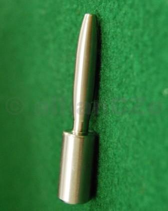 Trn pro frézku - 30 cal. Expander Mandrel - prodloužený Trn pro frézku - 30 cal. PMA TOOL - Expander MandrelModel: PXM-1030Kovový-nerezový trn pro ruční frézku na upravu krčku nábojnice.Trn je kompatibilní s frézkou od výrobce Sinclair - Neck Turning Toolsod 21st Century Shooting. Je precizně vyroben z nerezavějící oceli
