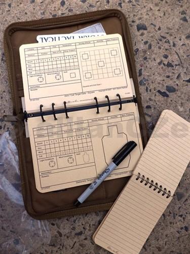 """Kniha záznamů pro střelce - Storm Tactical """"Rite in the Rain"""" Sniper Kit With Tan Cover Kniha záznamů Storm Tactical """"Rite in the Rain"""" Sniper Kit With Tan CoverITEM: RIR-KITKniha záznamů pro střelce s více jak 50 stranami kompletníchtabulek na speciálním papíře pro veškeré specifikace střelby v TAN cordura obalu na zip a s originálním CD ROM"""