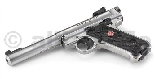Pistole RUGER MKIV .22 LR - nerez Pistole RUGER MARK IV .22 LRITEM: 40103Jedna z nejkvalitnějších malorážních pistolí na světovém trhu - vzhled