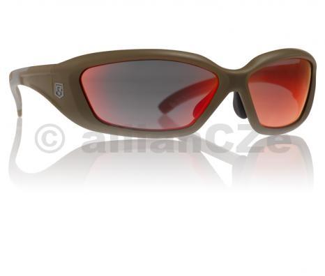 brýle střelecké - Revision Hellfly® Ballistic Sunglasses - Khaki frame / Flame Mirror lennses Revision Hellfly® Ballistic Sunglasses Khaki frame / Flame Mirror lensesITEM: 4-0491-0009Brýle splňují a překračují MIL-PRF-3013