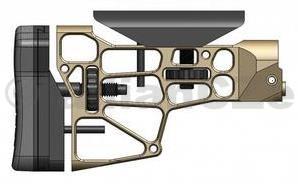 Pažba k šasí MDT - Skeleton Rifle Stock V3 - Flat Dark Earth Pažba MDT Skeleton Rifle Stock V3 barva - Flat Dark Earth ITEM: 471082 MDT Rifle stock V3 je určena pro šasí systém MDT TAC21