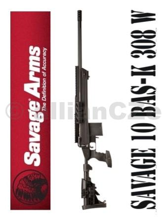 PUŠKA SAVAGE ARMS 10 BAS-K 308 Win SAVAGE ARMS 10 BAS-K 308 WinITEM. 18604je taktická puška pro speciální operace