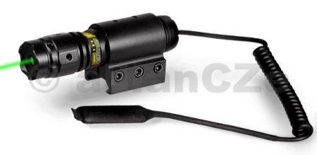 laserové ukazovátko UTG GREEN Laser LS279 UTG Compact Tactical Green Laser with Tactical Ring