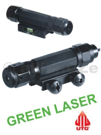 laserové ukazovátko UTG GREEN Laser TACTICAL LS169 laser zelený UTG SCP-LS169zelené laserové ukazovátko nové generace  Tactical W/E Adjustable Green Laser Sight with Integral Mounting Deck   •  UTG Tactical Green Laser Sight  •  TS Rated Laser with Precise and Wide Range Windage and Elevation Adjustments •  Twist-on