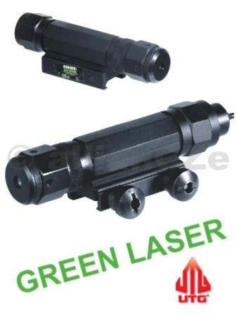 laserové ukazovátko UTG GREEN Laser TACTICAL LS169 laserzelenýUTG SCP-LS169zelenélaserové ukazovátko nové generaceTactical W/E Adjustable Green Laser Sight with Integral Mounting Deck • UTG Tactical Green Laser Sight • TS Rated Laser with Precise and Wide Range Windage and Elevation Adjustments • Twist-on