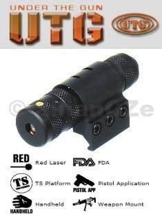 laserové ukazovátko UTG RED Laser LS268 - weaver laser červenýUTG SCP-LS268červené laserové ukazovátko nové generaces montáží na weaver - picatinny lištya s tlakovým dálkovým spínačem