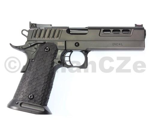 """Pistole STI DVC L 5"""" 9mm Luger """"2011"""" STI DVC L 5"""" 9mm Luger ITEM: 10-271130-90 STI DVC L v inovaci pro rok 2019 - sportovní provedení v ráži 9mm Luger / 9x19  - dvouřadý stroj v pětipalcovém provedení nejen na IPSC. vítězství je více než trofejDědictví šampionů je zabudováno do každého 2011®Cvičili jste nekonečné hodiny.Nechte 2011® dát vám bezkonkurenční výkon"""