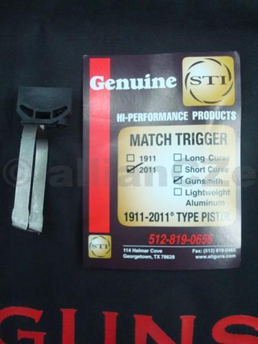spoušť STI MATCH TRIGGER - 2011/Gunsmith BLACK
