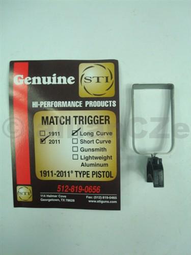 spoušť STI MATCH TRIGGER - 2011/Long Curve BLACK