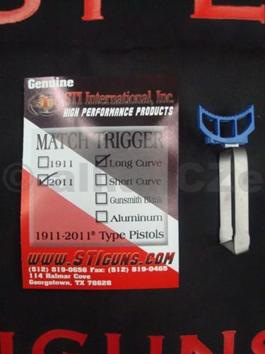 spoušť STI MATCH TRIGGER - 2011/Long Curve BLUE