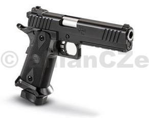 """Pistole STI TACTICAL DS 4.0"""" .45 ACP  """"2011"""" STI Tactical DS 4.0 / 2011  ráže:   .45 ACP  Inovativní provedení kvalitní a oblíbené samonabíjecí pistoleSTI TACTICAL ve 4-palcové délce hlavně a v ráži 45ACP. Výtečná spolehlivost a přesnost jako u původního modelu s picatinny lištou"""