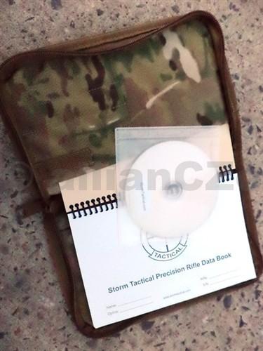 Kniha záznamů pro střelce - Storm Tactical '70 LBPaper' COIL BOUND Sniper Kit With Multicam Cover Kniha záznamů Storm Tactical '70 LBPaper' COIL BOUND Sniper Kit With Multicam CoverITEM: 70-LB-kitKniha záznamů pro střelce s více jak 150 stranami kompletníchtabulek pro veškeré specifikace střelby v MULTICAMO cordura obalu na zip do deště a s originálním CD ROM