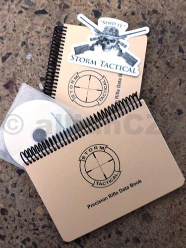 Knihy záznamů pro střelce - Storm Tactical USMC Data Book Set - 2ks