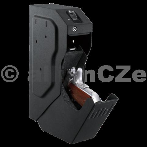 bezpečnostní schránka GunVault SpeedVault - SVB 500 (biometric) GunVault SpeedVault - SVB 500 model s biometrickým snímánímMějte svoji zbraň uloženu bezpečně a přitom zároveň po ruce