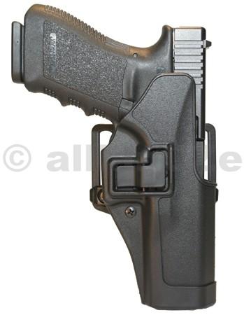 POUZDRO opaskové BLACKHAWK! SERPA® CQC w/Matte Finish pro S&W M&P 9/40 Sigma - pravé Pouzdro na krátkou zbraňBLACKHAWK! SERPA CQC w/Matte Finish pravé - pro S&W M&P 9/40 SigmaITEM: 410525BK-RPlastové pouzdro na krátké zbraně s průvlakem na pásek i s pádlem za opasek - polohovací s pojistkou