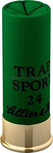 12x70 TRAP 24 SPORT S&B 2.4mm (25 ks) sportovní brokové náboje S&B ráže 12x70