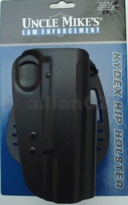 POUZDRO opaskové Uncle Mike's® L.E. KYDEX pro 1911 Špičkové pouzdro UNCLE MIKE´S - LAW ENFORCEMENT - KYDEX HIP HOLSTER pro pistole typu 1911.Pro praváky
