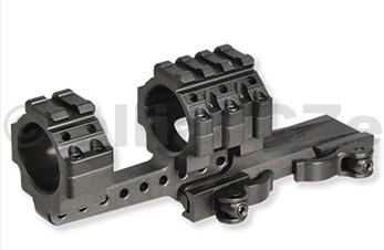 montáž vysoká ACCUSHOT 30mm a 75 mm obj. & weaver - jednodílná offset MS3 UTG®Integral QD Offset Ring Mount
