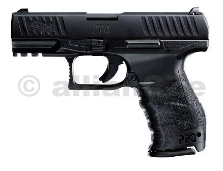 """Pistole Walther PPQ 9mm Walther PPQ 9mmITEM: 2783355Originální Walther-kvalita a nově vyvinutý spoušťový mechanizmus """"Quick Defense"""". Nový Walther PPQ spňuje veškeré požadavky moderní policejní pistole. Povrch pažby je výborně ergonomicky tvarovaný a je vyrobený ze směsi speciálního polyméru a skleněných vláken"""