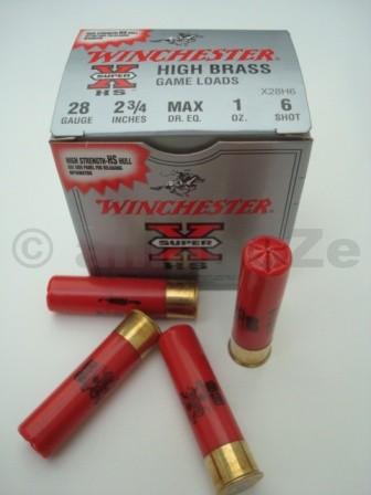28x70 HIGH BRASS 28g WINCHESTER SuperX brokové střelivo pro starší ráže 28Gv nejlepší kvalitě od WINCHESTERITEM: W-X28H625ks prodej na ZP !