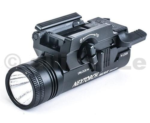 svítilna NexTORCH WL10X Executor 230Lumens LED Taktická svítilna NexTORCH WL10X Executor ITEM: WL10X  Taktická LED svítilna od výrobce NexTORCH pro ruční střelné zbraně je spolehlivé a praktické příslušenství k Vaší pistoli jak pro taktické