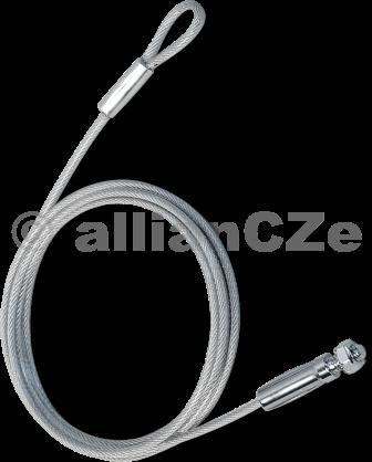 """bezpečnostní lanko GunVault Security Cable - BB 3000 GunVault Security Cable - BB 3000182 cm / 72"""" dlouhé pojistné lanko k bezpečnostnímschránkám GunVault."""