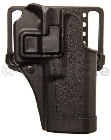 POUZDRO opaskové BLACKHAWK! SERPA® CQC w/Matte Finish pro GLOCK 43 - pravé Pouzdro na krátkou zbraňBLACKHAWK! SERPA CQC w/Matte Finish pravé - pro GLOCK 43ITEM: 410568BK-RPlastové pouzdro na krátké zbraně s průvlakem na pásek i s pádlem za opasek - polohovací s pojistkou