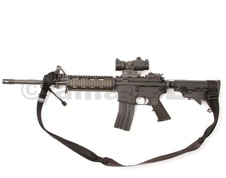 """Popruh na zbraň BLACKHAWK Rapid Adjust 2 Point Sling (2-PT) BlackHawk Rapid Adjust Two-point Sling - BlackITEM: 70GS18BK Kvalitní BLACKHAWK! dvoubodý rychlostavitelný popruh na dlouhou zbraň. Provedení v černé barvě.• Ideální pro rychlé přechody z a do stabilních střeleckých pozic  a bezpečných možností přepravy přes rameno.• vyrobeno z vysoce kvalitního 1.25 """"nylon webbing""""• Elegantní"""