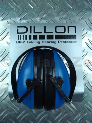 sluchátka střelecká DILLON HP-2 modré DILLON chrániče uší nejen pro střelce - bežné - nastavitelné v modré barvě