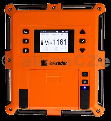 """digitální měřák rychlosti střel """"hradla"""" LABRADAR labradar ITEM: 1007 zařízení pro měření rychlosti střel"""