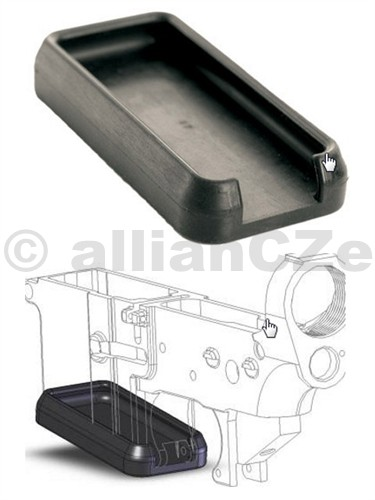 Krytka zásobníkové šachty CAMMENGA pro M16/AR15 CAMMNEGA Magwell dust coverpro zásobníkovou šachtu M16 / AR15ITEM: DCM16 NSN CODE: 1005-01-574-7673Magwell dust cover