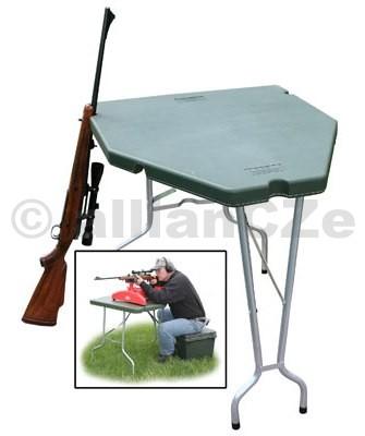 Střelecký přenosný stůl - Predator Shooting Table MTM Střelecký přenosný / skládací plastový stůl