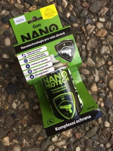 Čistící a mazací olej NANO PROTECH Gun - 150ml Nanoprotech Gun - 150mlNanoNeradi používáte agresivní přípravky při čištění usazenin od střelného prachu a zbytků olova? Trpí mechanismus Vaší palné zbraně v důsledku použití v terénu a při špatných podmínkách skladování