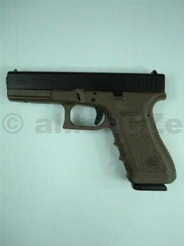 Pistole GLOCK 17 9mm PARA black&cub GLOCK 17 9mm PARA