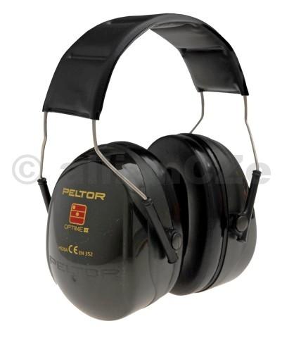 sluchátka střelecká PELTOR Optime II H520A Peltor OPTIME IIITEM: H520A-407-GQProvedení chráničů sluchu: Náhlavní páskaHodnocení útlumu: 31dBMušlový chránič sluchu Peltor Optime II je určen pro ochranu sluchu ve velmi hlučném prostředí a díky velmi nízké hmotnosti poskytuje uživateli značné pohodlí. Široká a pohodlná těsnicí dosedací linie je vyplněna jedinečnou kombinací kapaliny a pěny pro zajištění optimálního těsnění a zároveň nízkého přítlaku v místě styku s hlavou. Barva mušlí je černozelená metalická.SNR=31dB