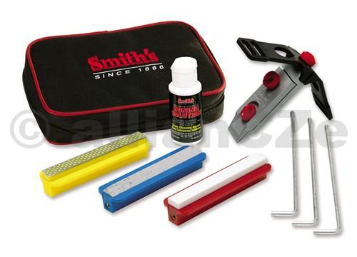 SADA na broušení ostří nožů SPSK - Standard Precision Knife Sharpening System Smith´s SPSK Standard Precision Knife Sharpening Systemitem # SPSKúplná sada pro broušení všech typů nožů
