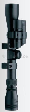 PUŠKOHLED GAMO VAMPIRE 4x32mm WR Unikátnípuškohled pro vzduchové zbraně s vestavěnou nízkoumontáží.Velmi dobrá viditelnost. V černé barvě.Puškohled