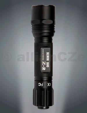 svítilna LEDWAVE Z-2 DUO Led & Xenon malá taktická svítilna LEDWAVE Z-2 DUO - 15 lumens LED / 64 lumen XENON