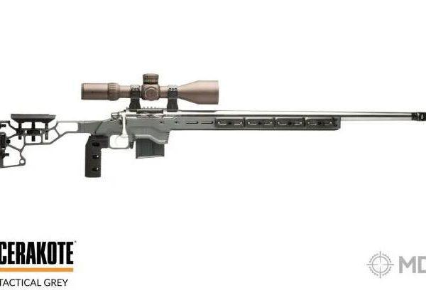 Šasí MDT- ACC Chasis system - Remington 700-SA-RH Šedá